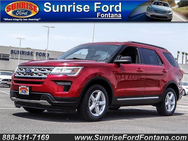 2018 Ford Explorer XLT for sale in Fontana, CA