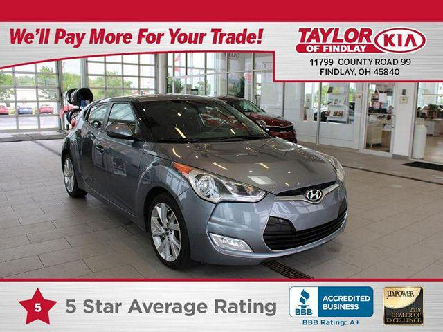 2017 Hyundai Veloster Dual Clutch for sale in Findlay, OH