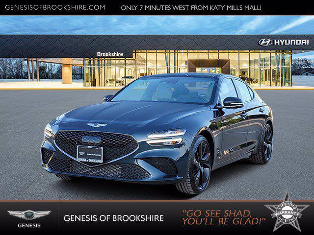 2022 Genesis G70 3.3T for sale in BROOKSHIRE, TX