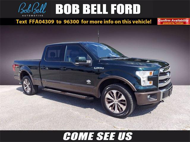 2015 Ford F-150 King Ranch for sale in GLEN BURNIE, MD