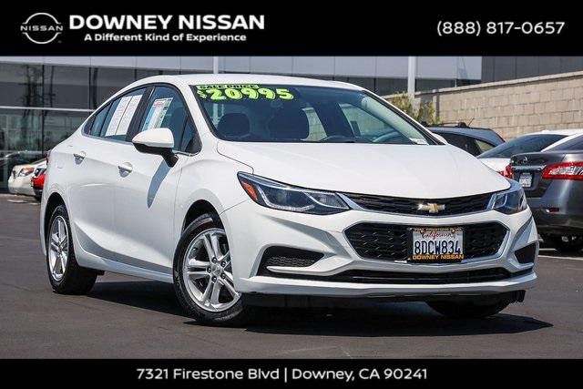 2018 Chevrolet Cruze LT for sale in Downey, CA