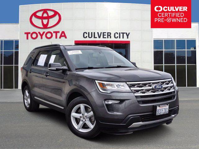 2018 Ford Explorer XLT for sale in Culver City, CA