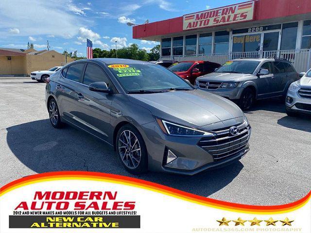 2019 Hyundai Elantra Limited for sale in Hollywood, FL