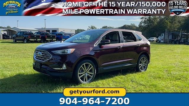 2021 Ford Edge Titanium for sale in Starke, FL