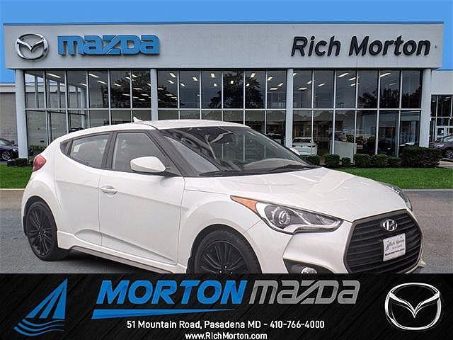 2016 Hyundai Veloster Turbo R-Spec for sale in Pasadena, MD