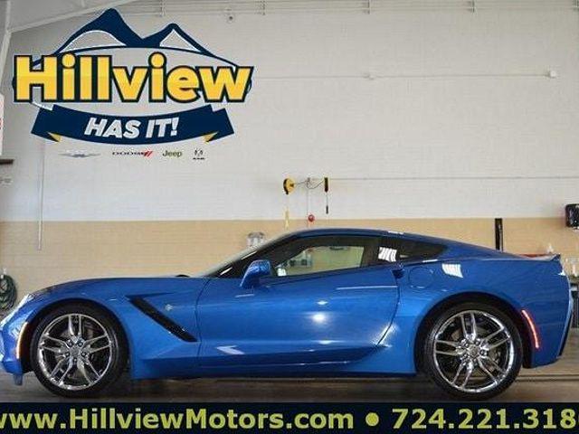 2015 Chevrolet Corvette Z51 3LT for sale in Greensburg, PA