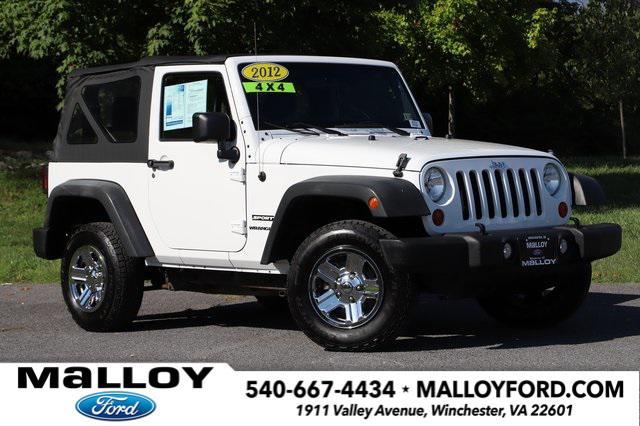 2012 Jeep Wrangler Sport for sale in Winchester, VA