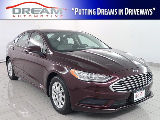 2017 Ford Fusion S for sale in Lawrence, KS