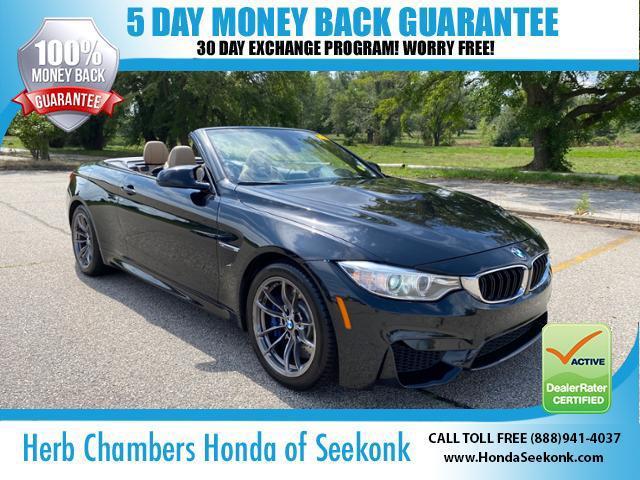 2015 BMW M4 2dr Conv for sale in Seekonk, MA