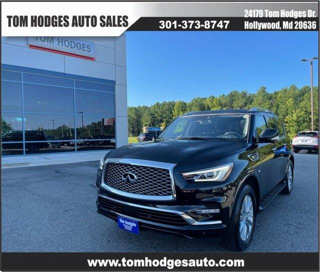 2019 INFINITI QX80 LUXE for sale in Hollywood, MD