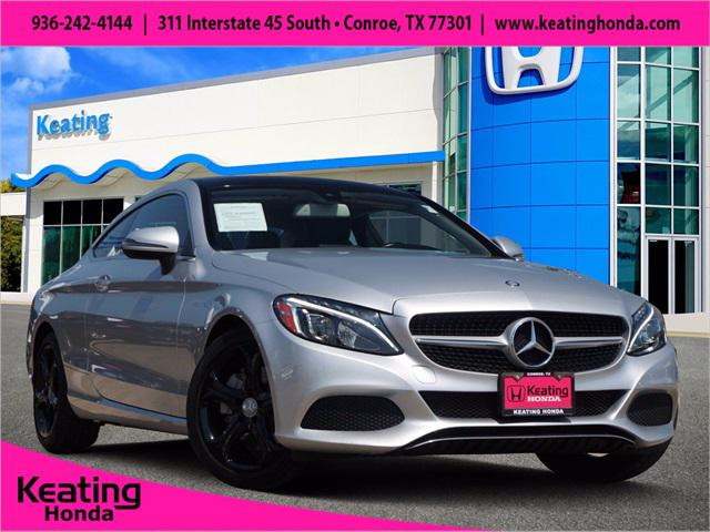 2017 Mercedes-Benz C-Class C 300 for sale in Conroe, TX