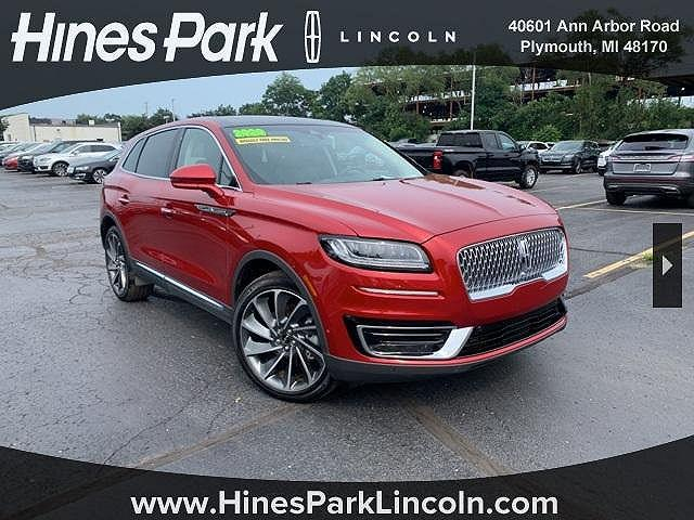 2020 Lincoln Nautilus Reserve for sale in Plymouth, MI
