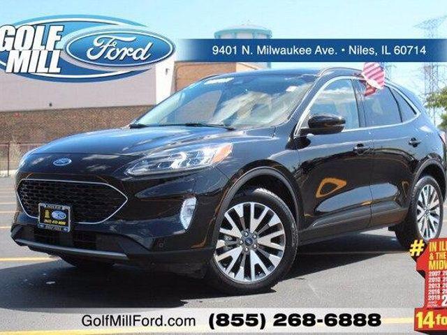 2020 Ford Escape Titanium Hybrid for sale in Niles, IL