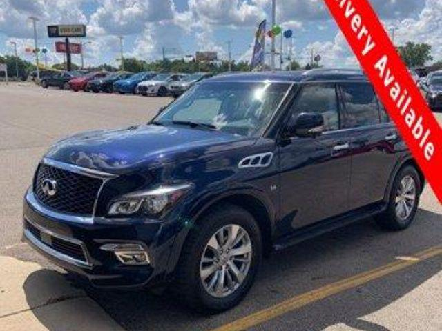 2017 INFINITI QX80 AWD for sale in Springfield, OH