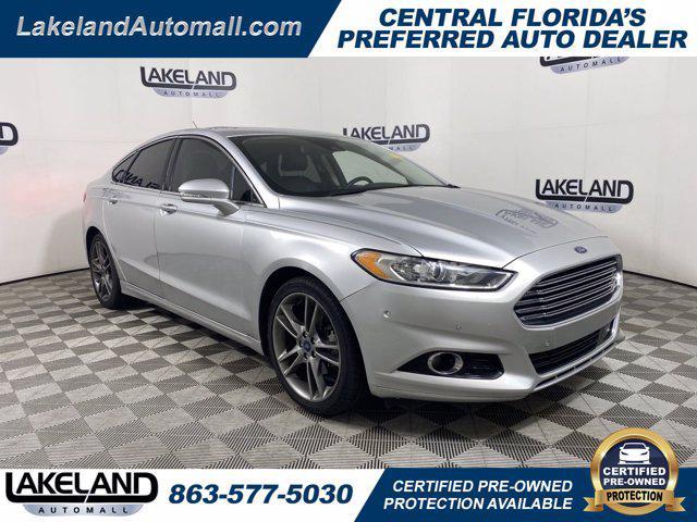 2015 Ford Fusion Titanium for sale in Lakeland, FL