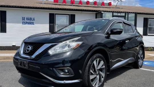 2015 Nissan Murano Platinum for sale in Manassas, VA