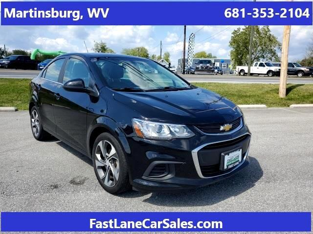 2019 Chevrolet Sonic Premier for sale in Hagerstown, MD