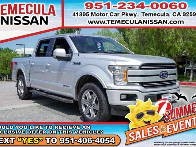 2018 Ford F-150 Lariat for sale in Temecula, CA