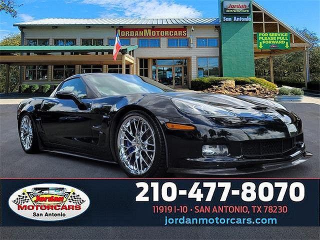 2010 Chevrolet Corvette ZR1 w/3ZR for sale in San Antonio, TX