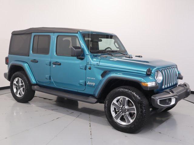 2020 Jeep Wrangler Sahara for sale in Manassas, VA