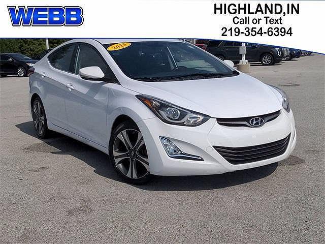 2015 Hyundai Elantra Sport for sale in Highland, IN