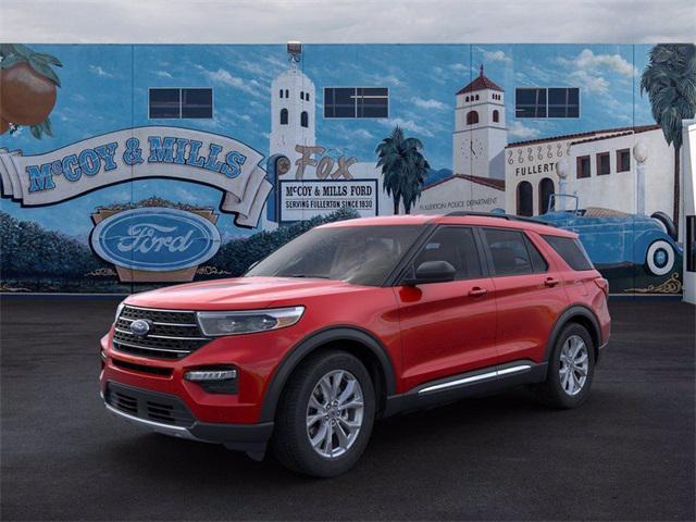 2021 Ford Explorer XLT for sale in Fullerton, CA