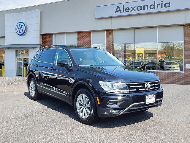 2018 Volkswagen Tiguan SE for sale in Alexandria, VA
