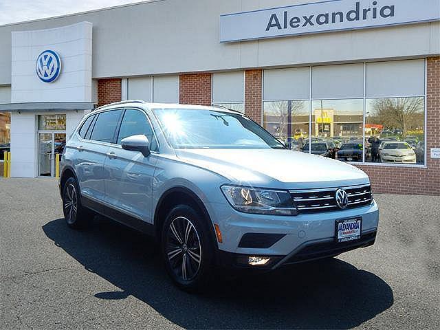 2018 Volkswagen Tiguan SEL for sale in Alexandria, VA