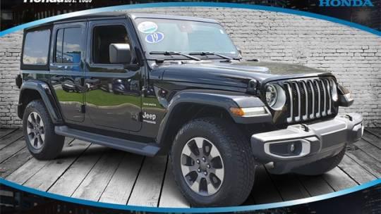 2019 Jeep Wrangler Unlimited Sahara for sale in Savannah, GA