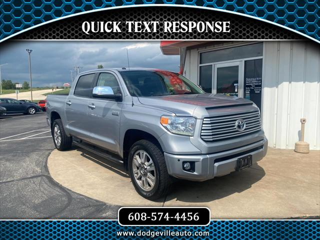 2017 Toyota Tundra 4WD Platinum for sale in Dodgeville, WI