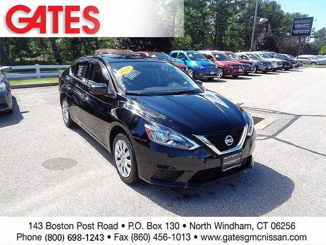 2019 Nissan Sentra S for sale in North Windham, CT