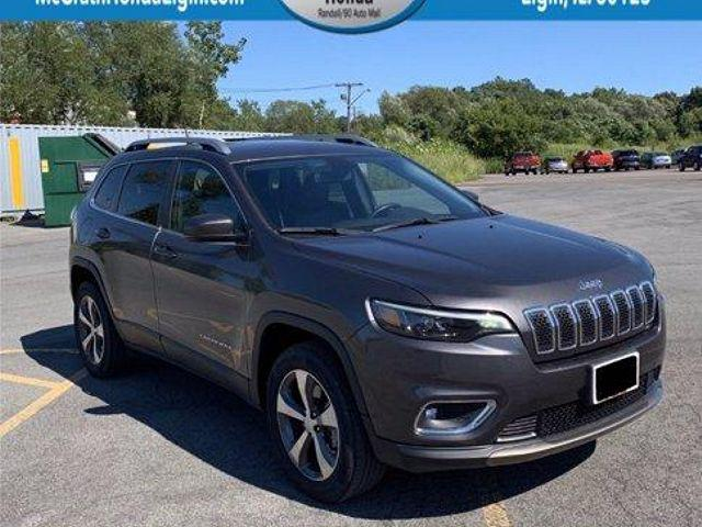 2019 Jeep Cherokee Limited for sale in Elgin, IL