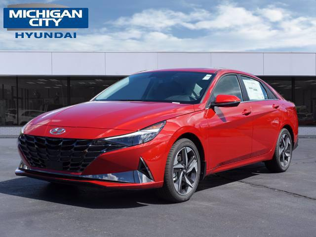 2022 Hyundai Elantra Limited for sale in MICHIGAN CITY, IN
