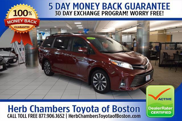 2019 Toyota Sienna Limited for sale in Boston, MA