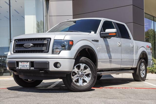 2013 Ford F-150 4WD SuperCrew 145 FX4 for sale in Mission Viejo, CA