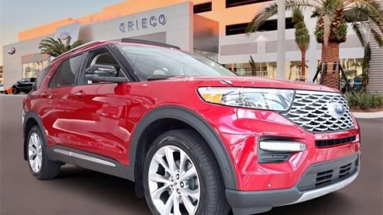 2021 Ford Explorer Platinum for sale in Delray Beach, FL