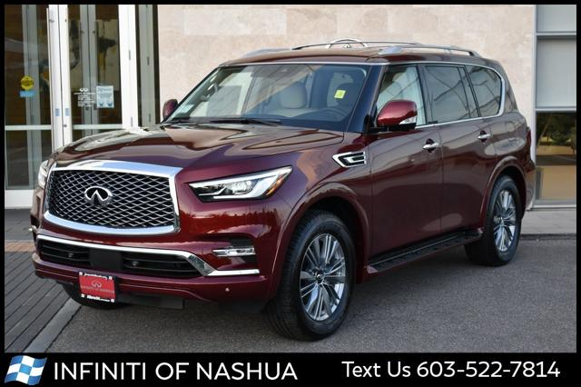 2021 INFINITI QX80 LUXE for sale in Nashua, NH