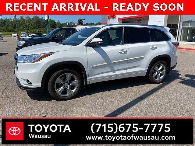 2015 Toyota Highlander Limited for sale in Wausau, WI