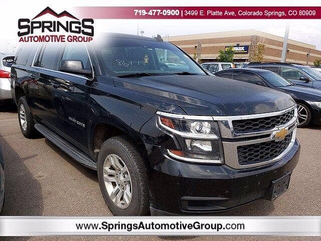 2016 Chevrolet Suburban LT for sale in Colorado Springs, CO