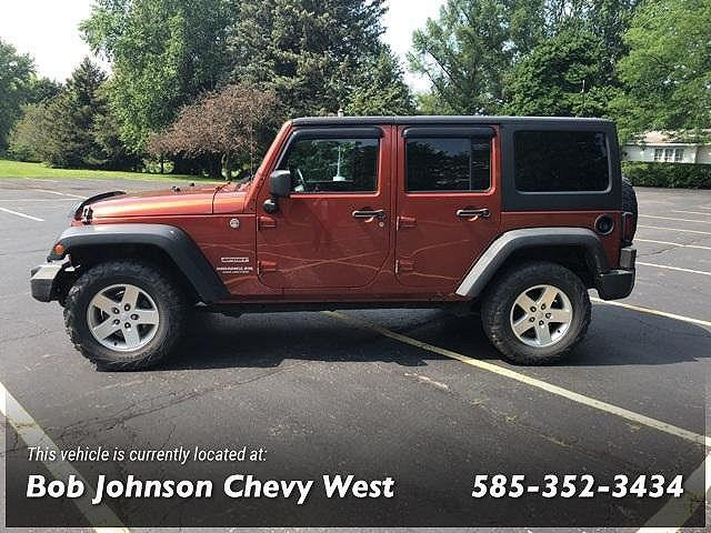 2014 Jeep Wrangler Unlimited Sport for sale in Spencerport, NY
