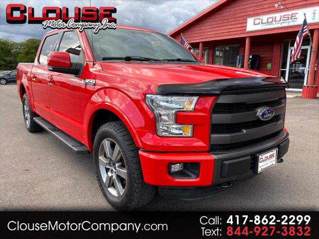 """2015 Ford F-150 4WD SuperCrew 145"""""""" Lariat for sale in Rogersville, MO"""