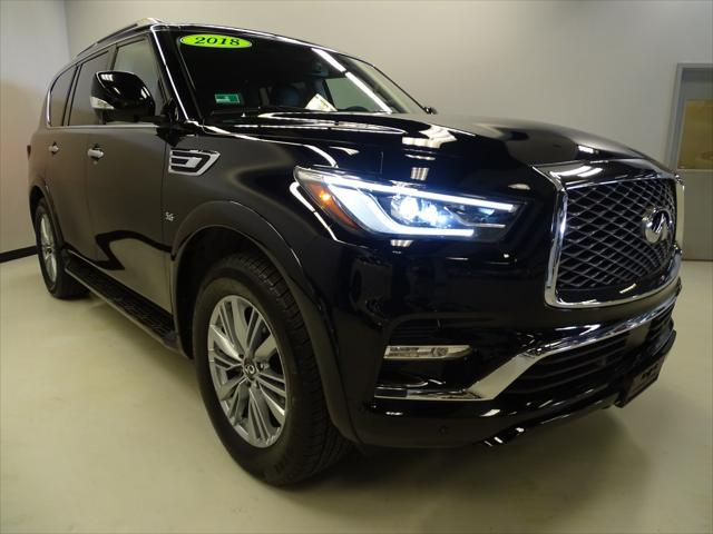 2018 INFINITI QX80 AWD for sale in Lynnfield, MA