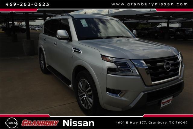 2021 Nissan Armada SV for sale in Granbury, TX