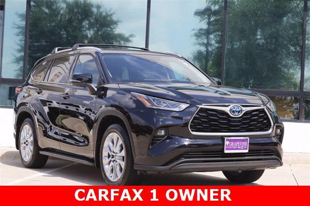 2020 Toyota Highlander Hybrid Limited for sale in Grapevine, TX