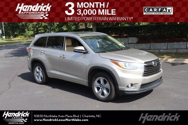 2016 Toyota Highlander Limited for sale in Charlotte, NC