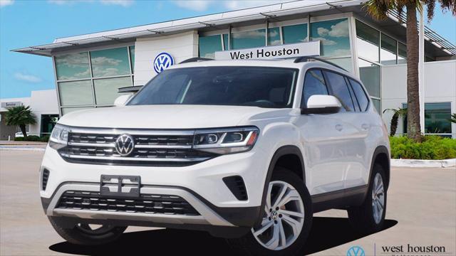 2021 Volkswagen Atlas 3.6L V6 SE w/Technology for sale in Houston, TX