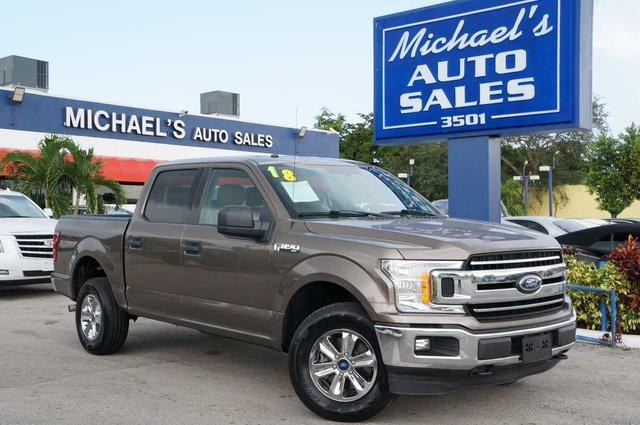 2018 Ford F-150 XLT for sale in Hollywood, FL