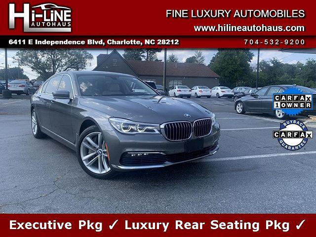 2016 BMW 7 Series 750i xDrive for sale in Charlotte, NC