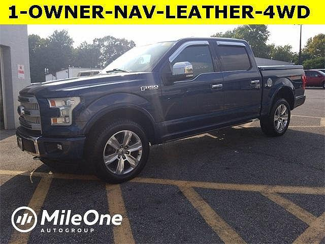 2016 Ford F-150 Platinum for sale in Owings Mills, MD