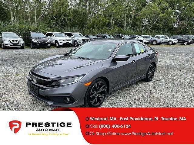2019 Honda Civic Sedan Sport for sale in Westport, MA
